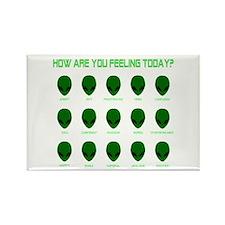 Alien Moods Rectangle Magnet (10 pack)