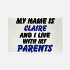 my name is claire and I live with my parents Recta