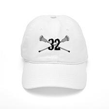 Lacrosse Number 32 Baseball Cap