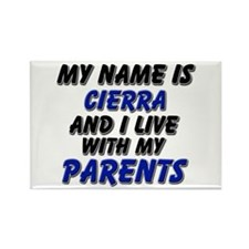 my name is cierra and I live with my parents Recta