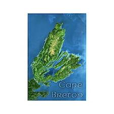 Cape Breton Rectangle Magnet