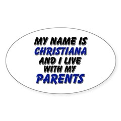 my name is christiana and I live with my parents S