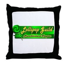 Lollipop Guild Throw Pillow
