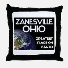 zanesville ohio - greatest place on earth Throw Pi