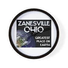 zanesville ohio - greatest place on earth Wall Clo