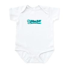 Lollipop Blue Infant Bodysuit