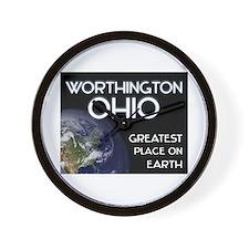 worthington ohio - greatest place on earth Wall Cl
