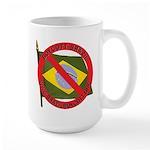 Boycott Brazil Large Mug