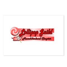 Lollipop Pink Postcards (Package of 8)