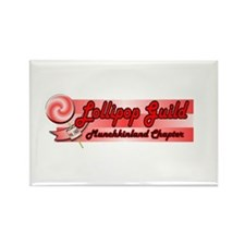 Lollipop Pink Rectangle Magnet