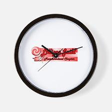 Lollipop Pink Wall Clock