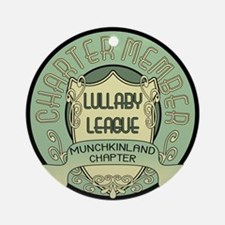 Lullaby League Ornament (Round)