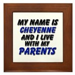 my name is cheyenne and I live with my parents Fra