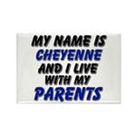 my name is cheyenne and I live with my parents Rec
