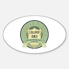 Lollipop Guild Oval Decal