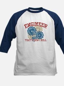Engineer Kids Baseball Jersey