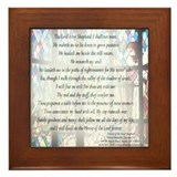 23rd psalm Framed Tiles