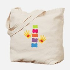 Chiro Hands & Spine Tote Bag