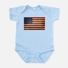 Antique Flag Infant Bodysuit