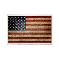 Antique Flag Rectangle Magnet (100 pack)