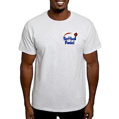 Softball Rocks Blue & Red T-Shirt