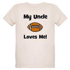 My Uncle Loves Me - Football T-Shirt