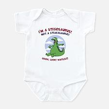 Stegosaurus - Waffles Infant Bodysuit