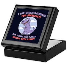 T-Rex - Waffles Keepsake Box