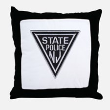 New Jersey State Police Throw Pillow