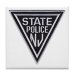 New Jersey State Police Tile Coaster