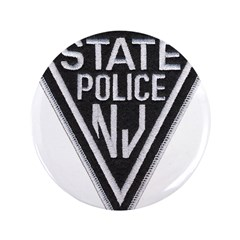 """New Jersey State Police 3.5"""" Button"""