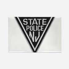 New Jersey State Police Rectangle Magnet
