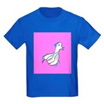 Cute Duck Kids Dark T-Shirt (Purple)