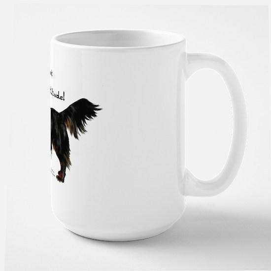 Dachshund Attitude Large Mug