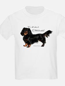 Dachshund Attitude Kids T-Shirt