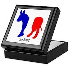 Got Brie? Democrat Foreign Policy Keepsake Box