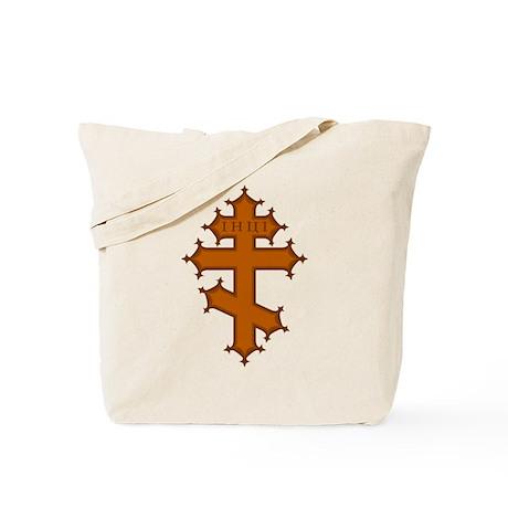 Russian Cross Tote Bag
