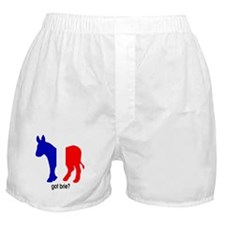Got Brie? Democrat Foreign Policy Boxer Shorts