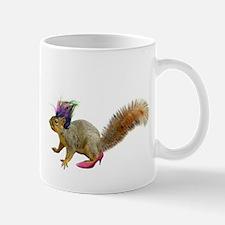 Dress-up Squirrel Mug