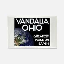 vandalia ohio - greatest place on earth Rectangle