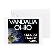 vandalia ohio - greatest place on earth Greeting C