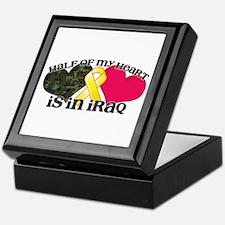 Cute Soldier heart Keepsake Box