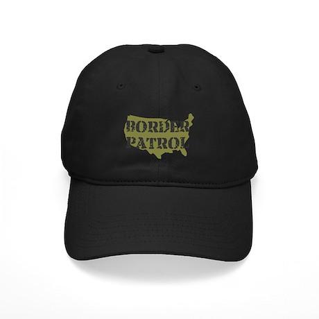 US BORDER PATROL SHIRT LOGO Black Cap