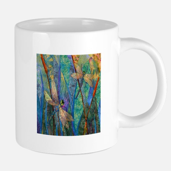 Colorful Dragonflies 20 oz Ceramic Mega Mug