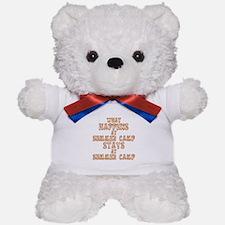 Summer Camp Teddy Bear