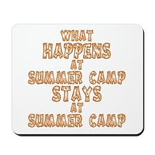 Summer Camp Mousepad