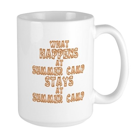 Summer Camp Large Mug