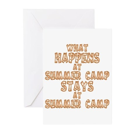 Summer Camp Greeting Cards (Pk of 10)