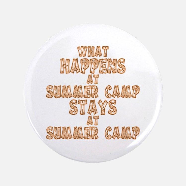 "Summer Camp 3.5"" Button"