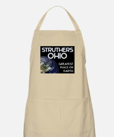 struthers ohio - greatest place on earth BBQ Apron
